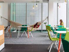Hostelworld Offices Dublin by Henry J Lyons - #office, #interior,
