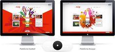 Coca Cola Morocco websites #website #webdesign
