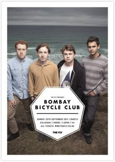 Tumblr #bicycle #bombay #typography #design #poster #club