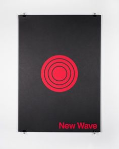 Edits by Edit — Duane King — New–wave #design #graphic #wave #poster #music #new