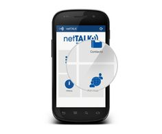 netTALK Smartphone App (Android) on the Behance Network #close #calling #design #app #up #android