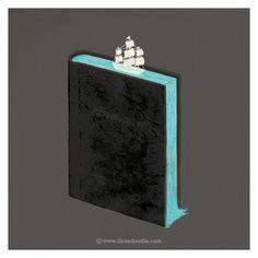 Adventurer   Flickr Photo Sharing! #illustration #book #boat