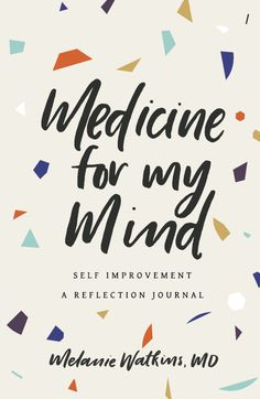 Self Improvement, medicine, journal, book cover
