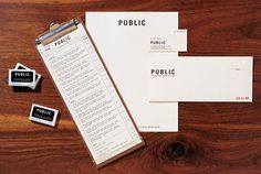 Graphic-ExchanGE - a selection of graphic projects - Kerry Ropper #stamp #identity #menu