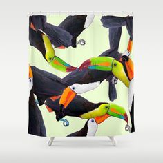 Toucan Pattern by Maria Umiewska