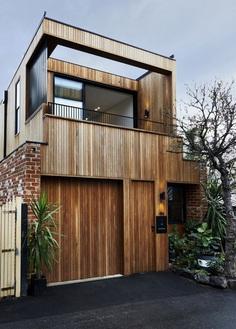 Studio Tate Designs a Contemporary Double Storey House in Prahran, Australia