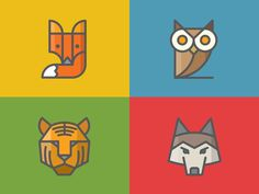 Zendesk Animal Icons #illustration