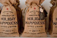 lovely-package-device-printshop1 #coffee #bag #print #burlap