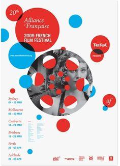 French Film Festival 2009, Uriah Gray's Portfolio #fesitval #uriah #poster #gray