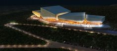 New world class convention center to attract visitors to Calabar, Nigeria - eVolo | Architecture Magazine #architecture