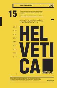 50 Years of Helvetica by R2works #typography #poster #helvetica