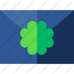 See more icon inspiration related to clover, communications, contact, mail, message, email, envelope, letter and business on Flaticon.