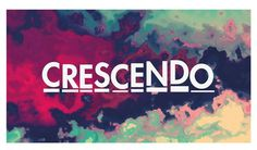 Logo Design for Crescendo- a music magazine #logo design #crescendo #music magazine