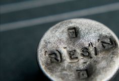 Design Work Life » NOTHING:SOMETHING: Resin Denim Branding Part 1 #typography