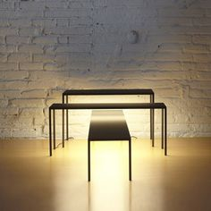 Dezeen » Blog Archive » BlancoWhite by Estudi Arola for Santa & Cole #lamp #table
