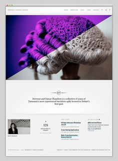 MindSparkle Magazine / Websites We Love #website #layout #web