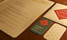 Identity Redesign on the Behance Network #vintage #branding #business card #retro #letterhead #envelope