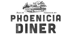 The Phoenicia Diner #logo #identity #diner