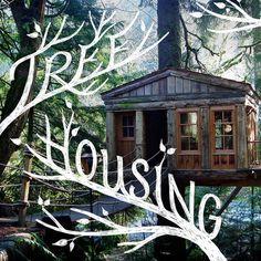 Jessica Hische #house #tree #typography
