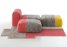 Mangas Space by Patricia Urquiola for Gandia Blasco Photo #sofa #carpet
