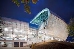 CJWHO ™ #design #romania #photography #architecture #arena #cluj