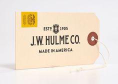 JWHulmeCo #logotype #tag #identity