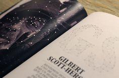 BLACKGROUND - mateo carrasco #design #graphic #black #music #editorial #magazine #typography