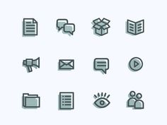 Icons #vector #line #icons #minimal #art