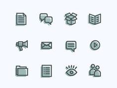 Icons #vector #line #icons #minimal #art