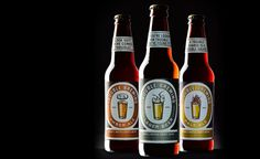 Double Brewing #beer #packaging #print #label #bottles