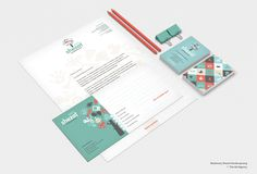 Identity Shezaf Kinderopvang (childcare) - The Ad Agency, www,theadagency.nl #stationary #design #graphic #childcare #identity #logo #letterhead