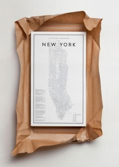 All Things Stylish #design #manhattan #map #york #new