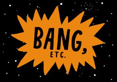 Big Bang, by Jenni Sparks #inspiration #creative #bang #design #graphic #big #space #illustration #typography