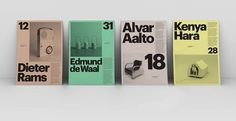 Posters for the Museu del Disseny Barcelona - Design by Atlas www.facebook.com/DesignByAtlas #poster #atlas #barcelona
