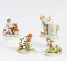 Meissen, 4 Putt #porcelain