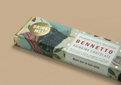 Bennetto Drinking Chocolate #cocoa #bennetto #chocolate #bar #organic