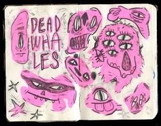 Krista Perry - Sketchbook No. 3 #illustration #sketchbook #moleskin