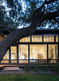 Ridge Oak Residence by McKinney York Studio 9