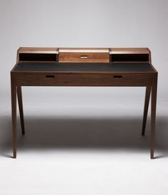 Dare Studio :: Katakana Writing Desk #walnut #desk #writing