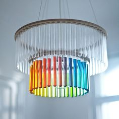 Test Tube Chandeliers by Pani Jurek #chandelier #candelabrum
