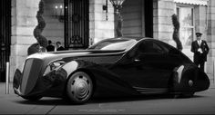 Ugur Sahin Design Recreates Rolls Royce Jonckheere Aerodynamic Coupe Carscoop #car