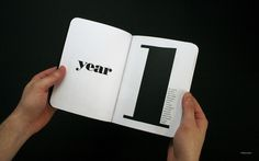 Year 1 - Tom Crawshaw | Design.org #notebook #book #one