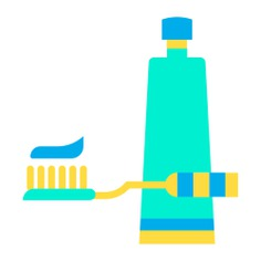 See more icon inspiration related to brush, teeth, healthcare and medical, teeth brush, teeth cleaning, Tooth Brush, brushing, tooth paste, hygiene, tooth, beauty, paste, clean and cleaning on Flaticon.