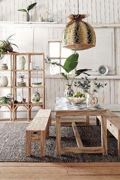 Sura Dining Table - anthropologie.com #interior