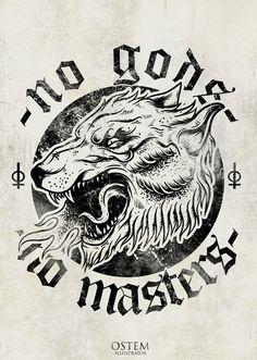 tumblr_mduslr6gIk1qzcapfo1_500.jpg (498×700) #logo #wolf