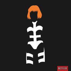 She's now on Netflix. Perfect. nflx.it/1mfSYTj #netflix #design #the #leeloo #iconic #illustration #minimal #fifth #perfect #element
