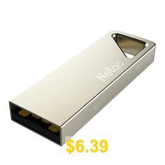 Netac #U326 #High #Speed #USB #2.0 #Flash #Drive #Metal #Memory #Stick #U #Disk #Pen #Drive #- #SILVER