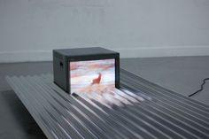 Elements #television #corrugated #waves #reflection