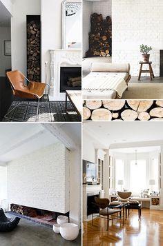 contemporary log storage ideas sfgirlbybay design & lifestyle blog #interior #design #decor #deco #decoration