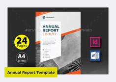 Annual Report Design Template by marlakk